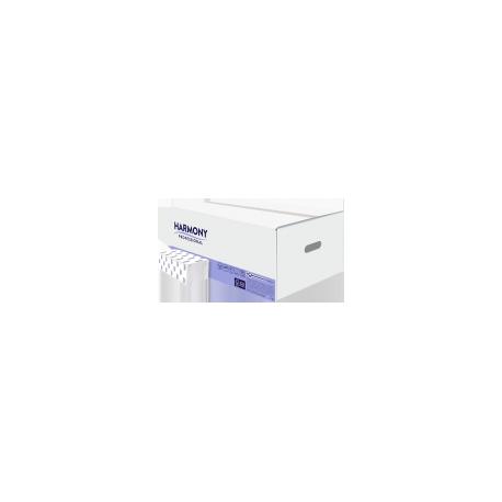 PR ZZ , 2 vrstvý, bílý recyklát 24x23 cm
