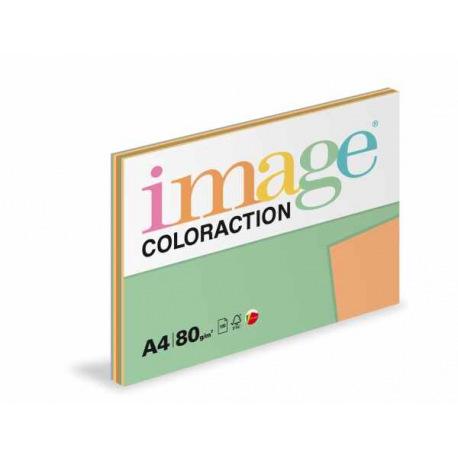 Papír mix barev, 100listů, 5 barev