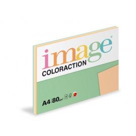 Papír mix pastelových barev, 100 listů, 5 barev