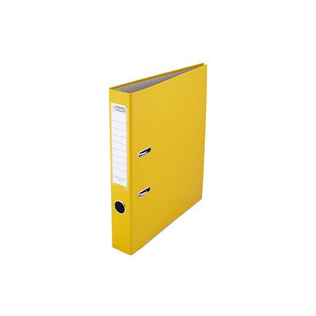 Pořadač pákový A4, 50 mm žlutý