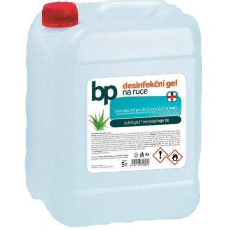 BP dezinfekční, bezoplachový gel na ruce