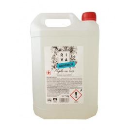 Mýdlo Riva dezinfekční, tekuté 5 L