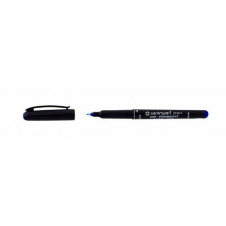 Permanentní popisovač 2636F modrý 0,6mm