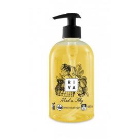 Riva tekuté mýdlo med a fíky 500g