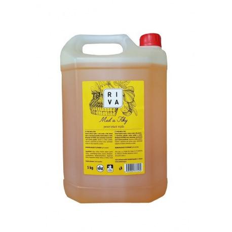 Riva tekuté mýdlo med a fíky 5kg