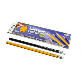 dřevěná tužka s gumou HB