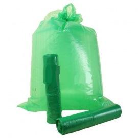 Pytel LDPE 70x110 80mic zelený 15ks