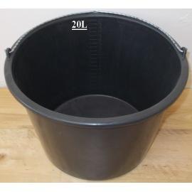 Kbelík plastový 20L