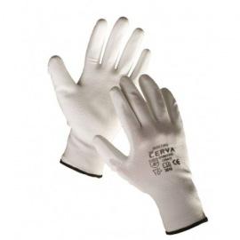 Rukavice nylonové PU dlaň velikost L