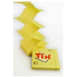 Bloček samolepící 75x75mm / 100l žlutý