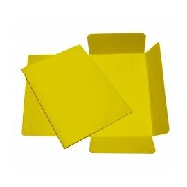 Mapa odkládací 3 klopy žlutá