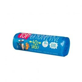 Sáček odpadní 40l 30ks modrý