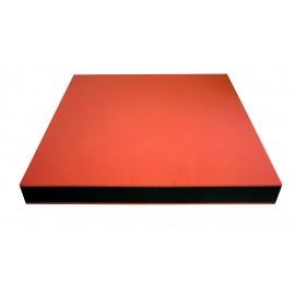 Cvičební podložka červená 40x40x5,5 cm